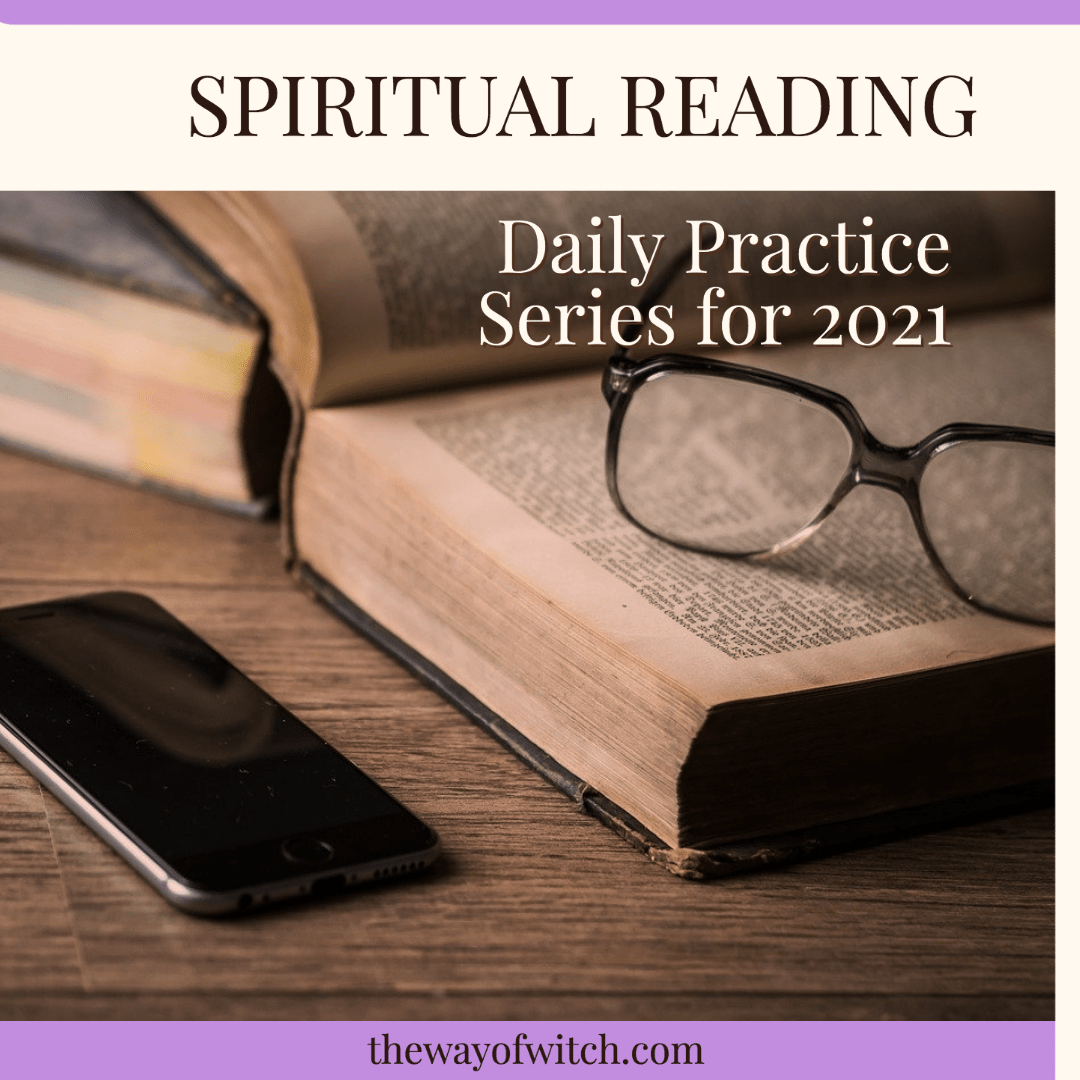 Spiritual Reading: Daily Practice Series for 2021